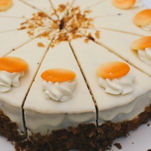 Maskarponės sūrio ir karamelės tortas