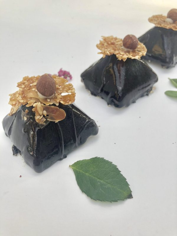 Pyragaitis su šokolado putėsiais