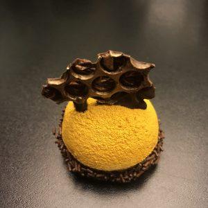 Šokoladinis pyragaitis su uogiene
